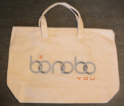 "Canvas ""I Bonobo You"" Bag"