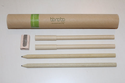 """I Bonobo You"" Eco-Friendly Pen/Pencil/Sharpener Set"