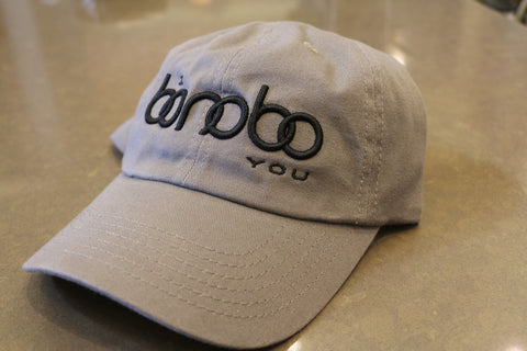 Grey Canvas Hat