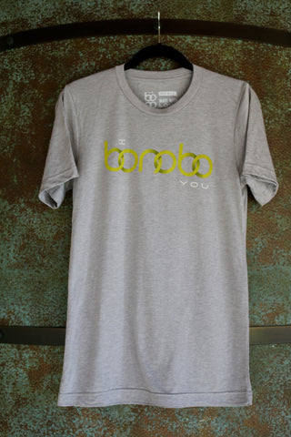 """I Bonobo You""/Bonobo Face Crew Neck T-shirt"