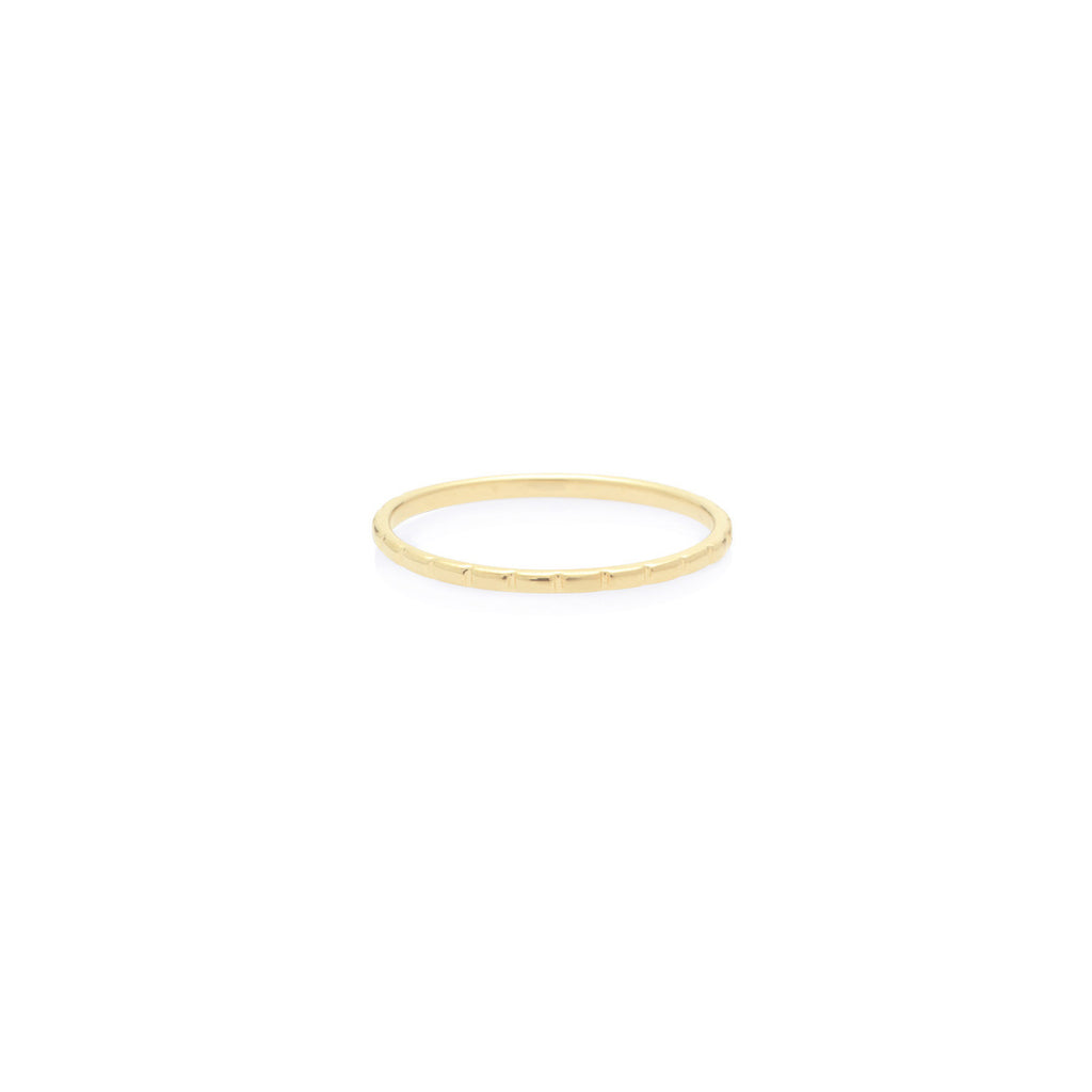 ANILLO CHECKERS GOLD
