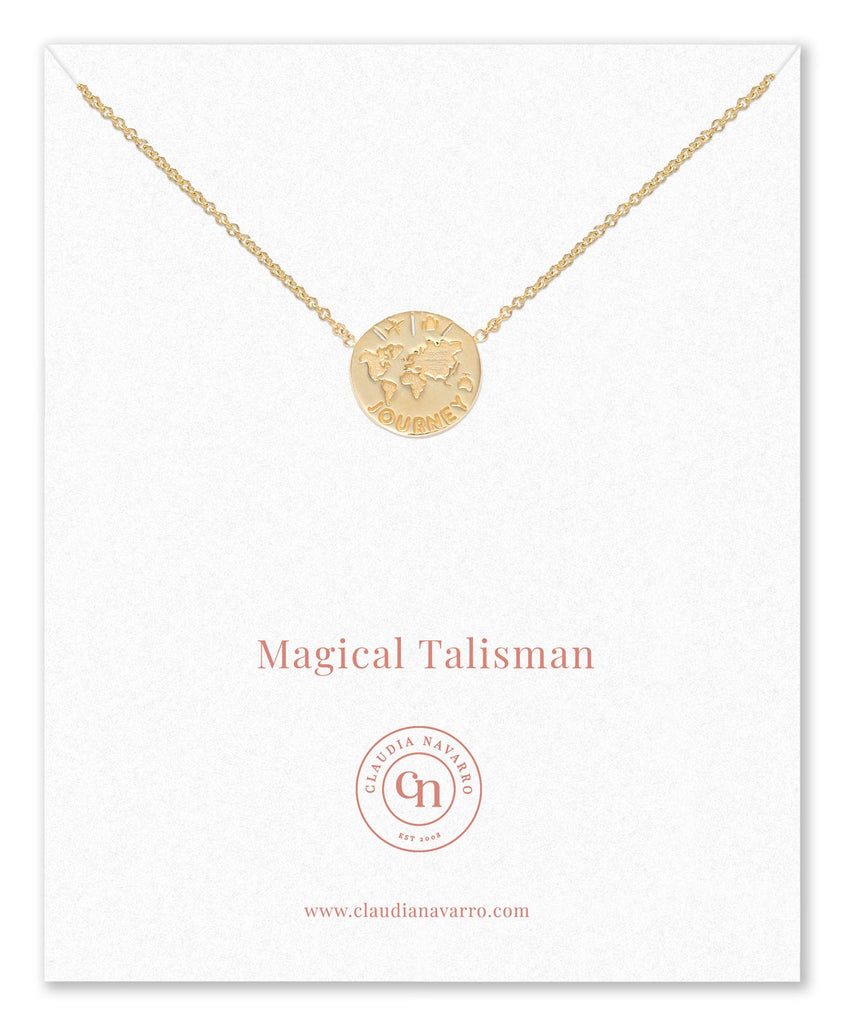 Collar Journey Talisman Gold