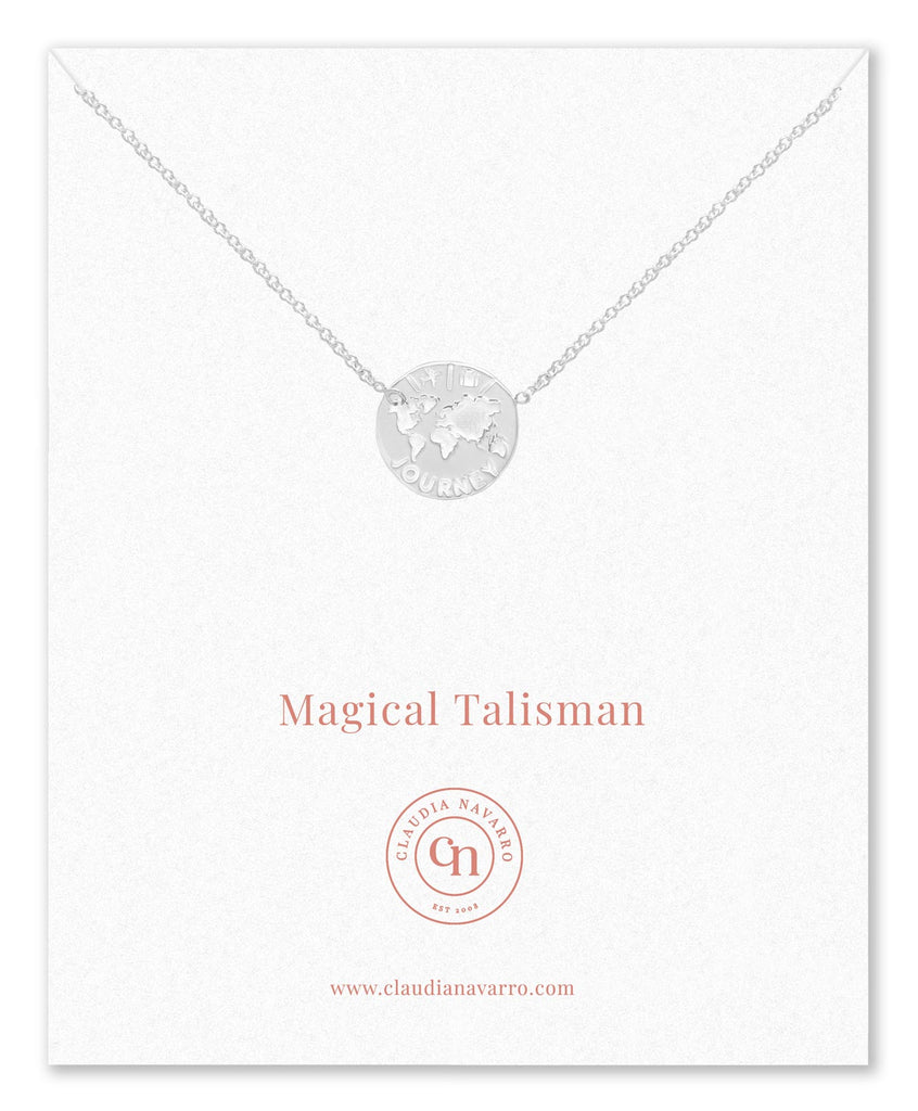 Collar Journey Talisman Silver