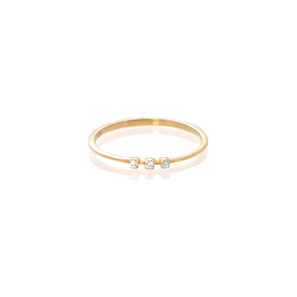 Anillo Triple Ilusion Gold