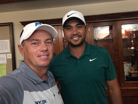 Craig Hocknull and Jason Day PGA Championship