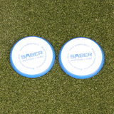 Saber Golf Putting Discs - Set of 2