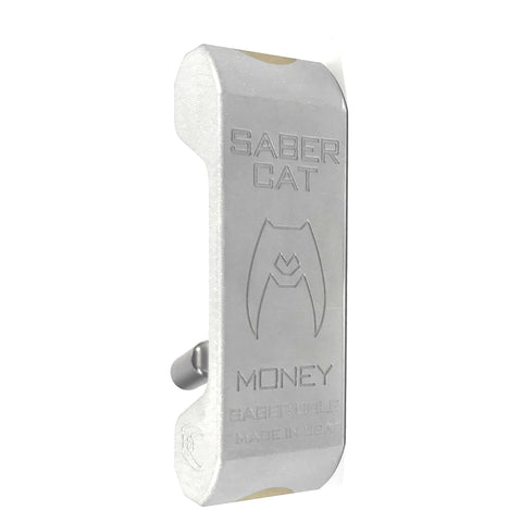 "Saber Cat ""MONEY"" Putter - Blade - 1 of 1 - By Saber Golf"