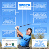 1 SABER GOLF SWING TRAINING AID - COACHES PACK