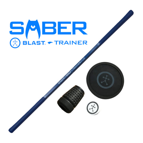 ANALYZE YOUR SWING SPEED AND MORE - SABER BLAST TRAINING AID