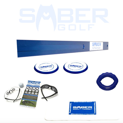 1 Amazing Saber Golf Putting Performance Pack - Bundle and Save