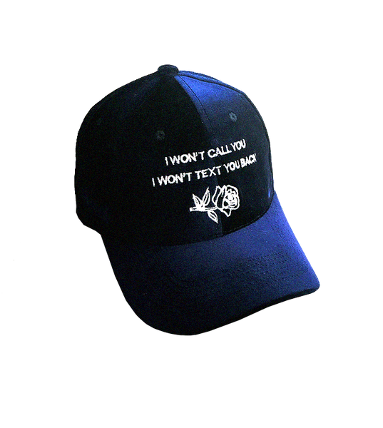'I Won't Call You' Velvet cap