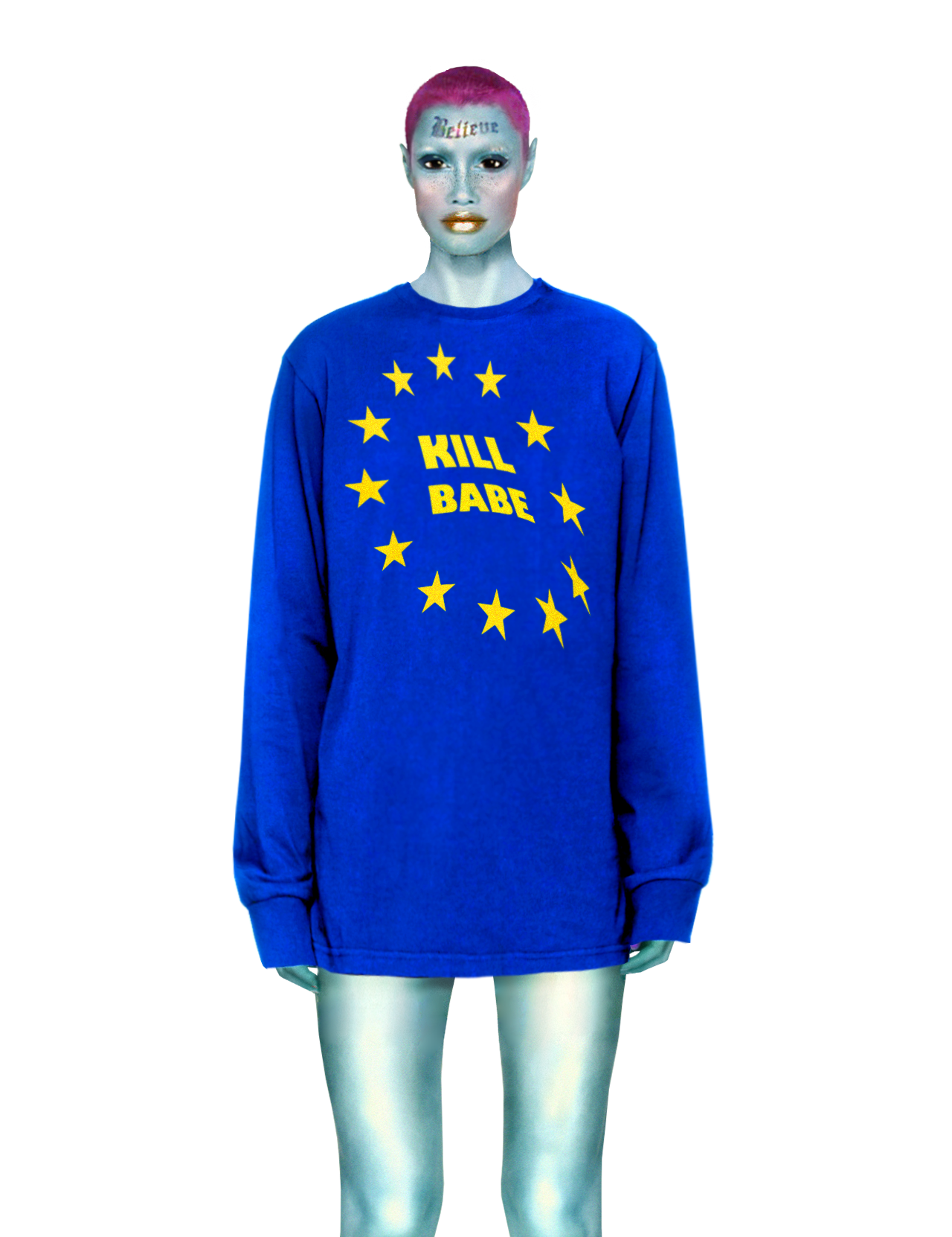 EU & I Long Sleeve tee
