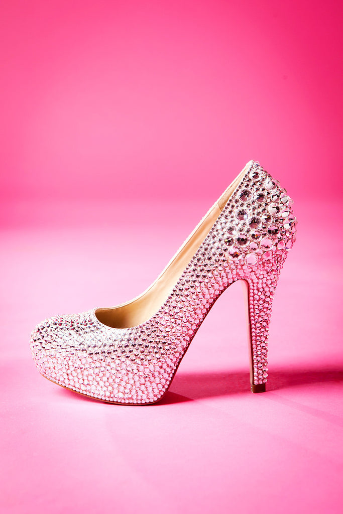 Swarovski High Heel Shoes
