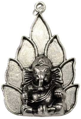 Ganesh on Lotus