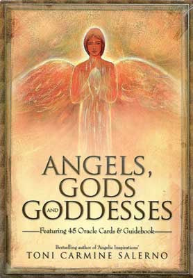 Angels Gods & Goddesses deck & book
