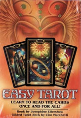 easy tarot deck and book