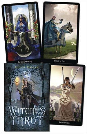 Witches Tarot deck & book