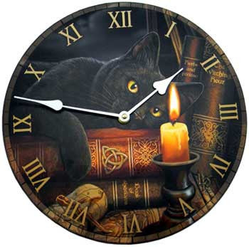 Witching Hour clock 11 1/2""