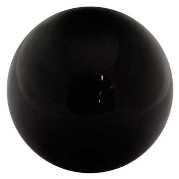 50mm Black Obsidian crystal ball