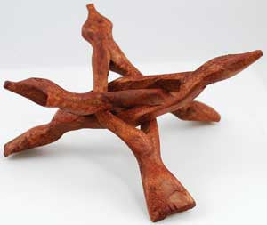 "6"" 3-Legged Wooden stand"