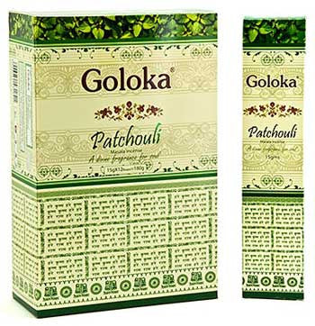 Patchouli Goloka sticks 15gm