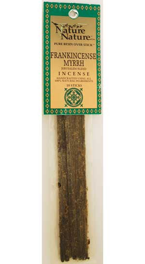 Frankincense/Myrrh Jerusalem Blend stick 10pk