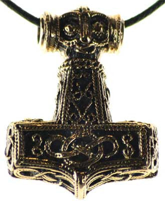 Thors Hammer bronze