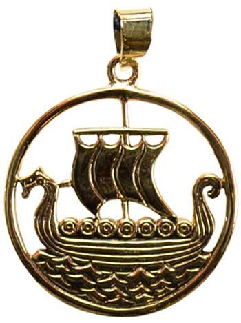 Viking Ship bronze