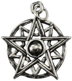 pentagram pendant with cord