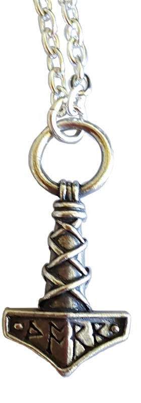 Thors Hammer with chain