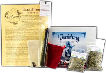 Banishing Boxed ritual kit