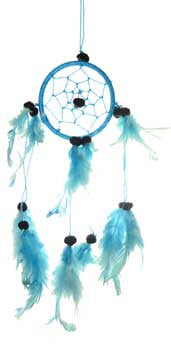 "3"" Turquoise dream catcher"