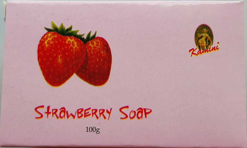100g Strawberry soap