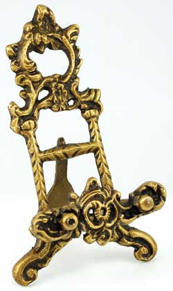 Brass Scrying Mirror holder