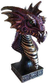 "6 1/2"" purple Dragon"