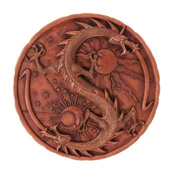 Double Dragon Alchemy plaque