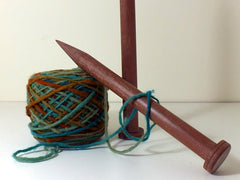 Handmade Wooden Knitting Needles