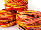 100% Pure Chilean Wool Yarn handmade 100g knitting Red Yellow Pink Burgundy Araucania
