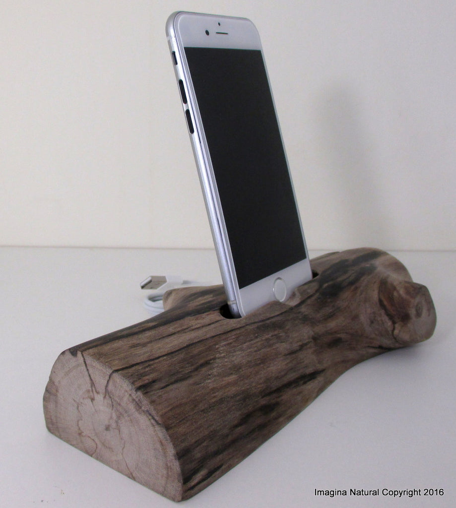 Unique Free shipping Iphone 6 or 7 Docks Pre Order DriftWood iPhone 7 Stand Wooden iPhone 7 Docking Station Reclaimed Drift Wood iPhone 7 Dock Wooden