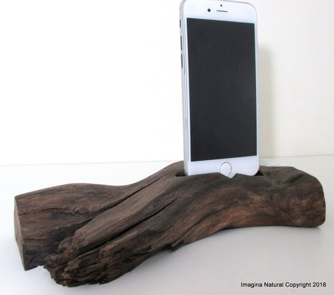 Unique Free shipping Iphone 6 or 7 Docks Pre Order DriftWood iPhone 7-8-8X-XS Stand Wooden iPhone 7 Docking Station Reclaimed Drift Wood iPhone 7-8-8X-XS Dock Wooden