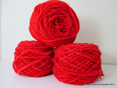 100% Pure Natural Chilean Wool Yarn Handmade 100g knitting Res Hand Painted Wool - Imagina Natural