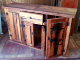 Reclaimed Oak Cupboard , Cabinet, Handmade in Chile, Wooden Cabinet, wood cupboard. - Imagina Natural