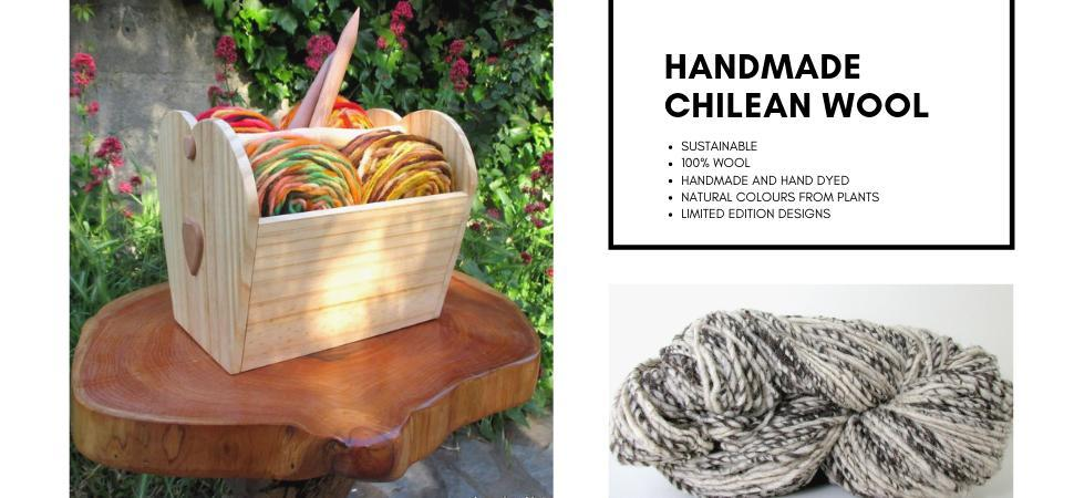 Handmade Natural Chilean Yarn
