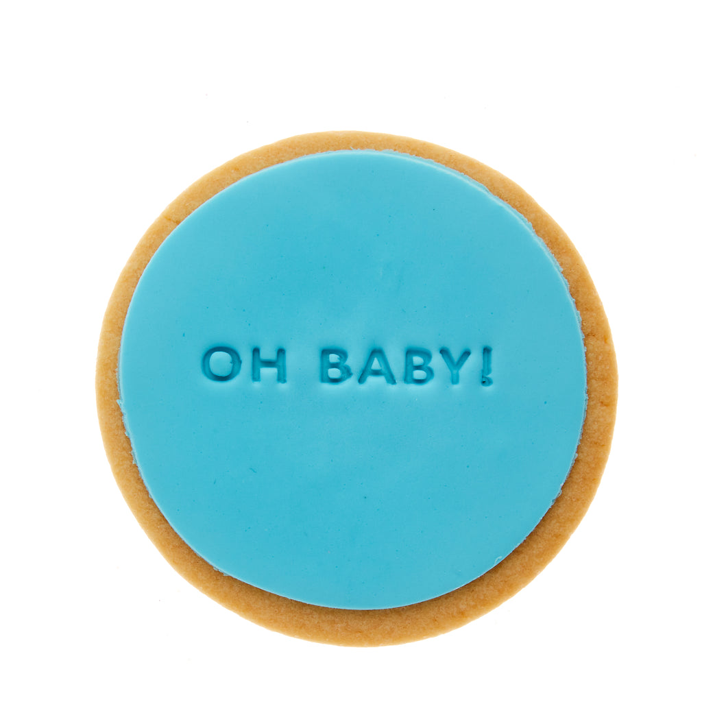 oh baby baby shower cookie gift delivery