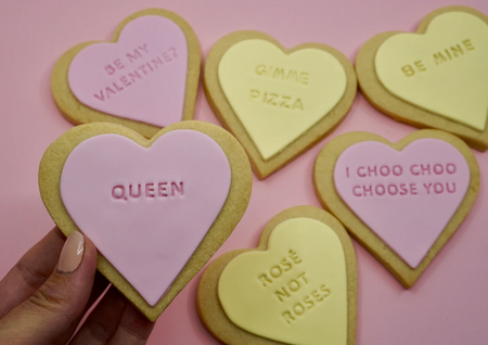 Galentines Day cookie gift set