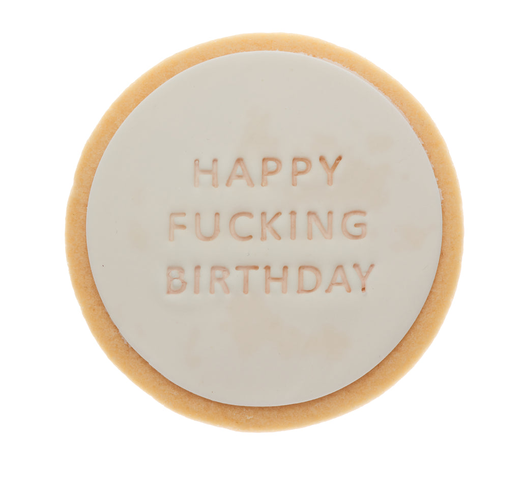 happy fucking birthday cookie gift delivery