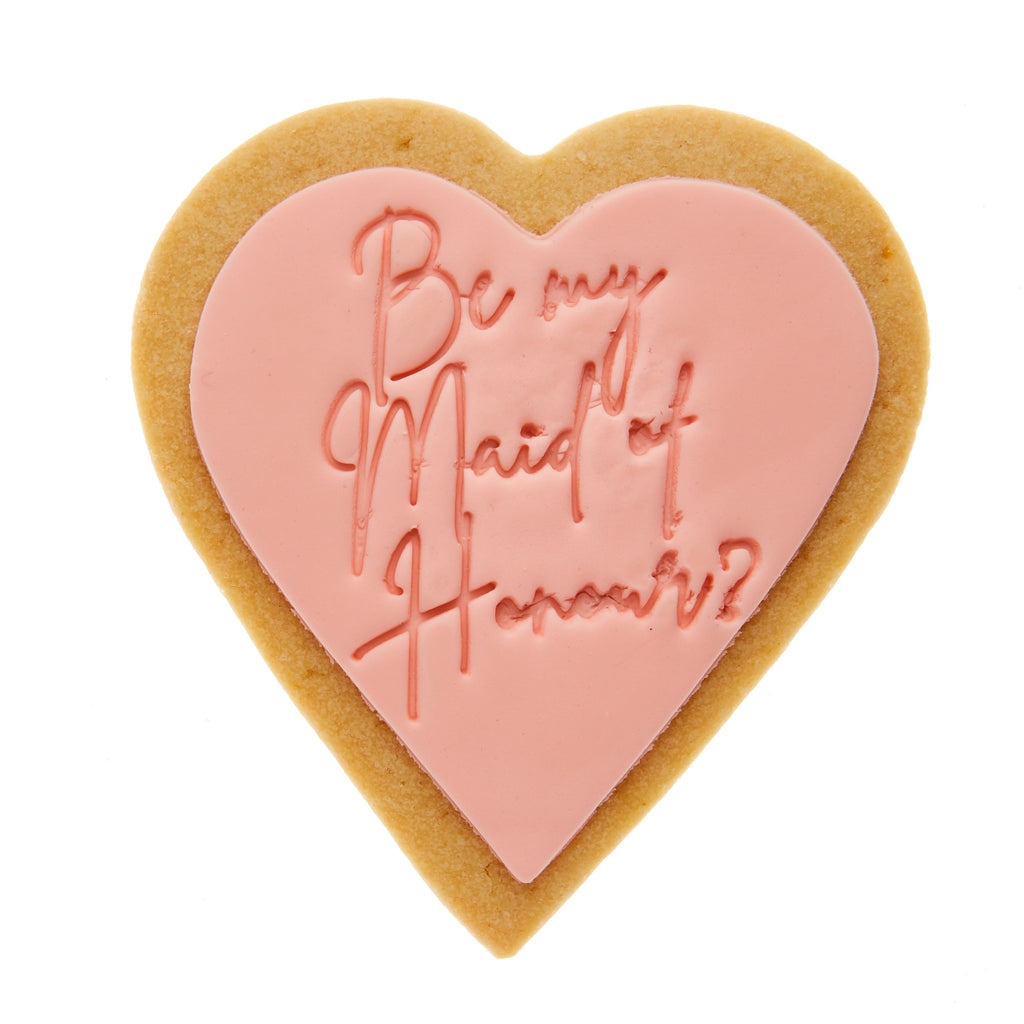 be my maid of honour cookie gift delivery QUOTE COOKIE