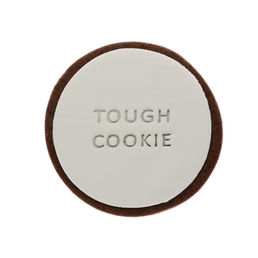tough cookie gift delivery ginger quote cookie