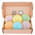 rainbow compliment cookies gift box sweet mickie