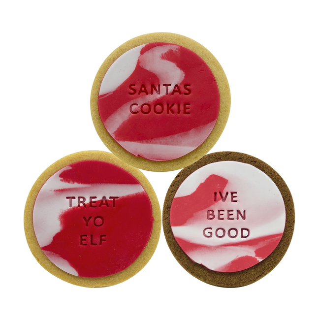 good santa christmas cookies corporate gifts